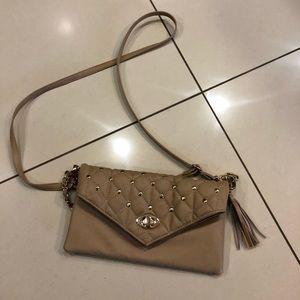 Handbags - Beige Crossbody Purse